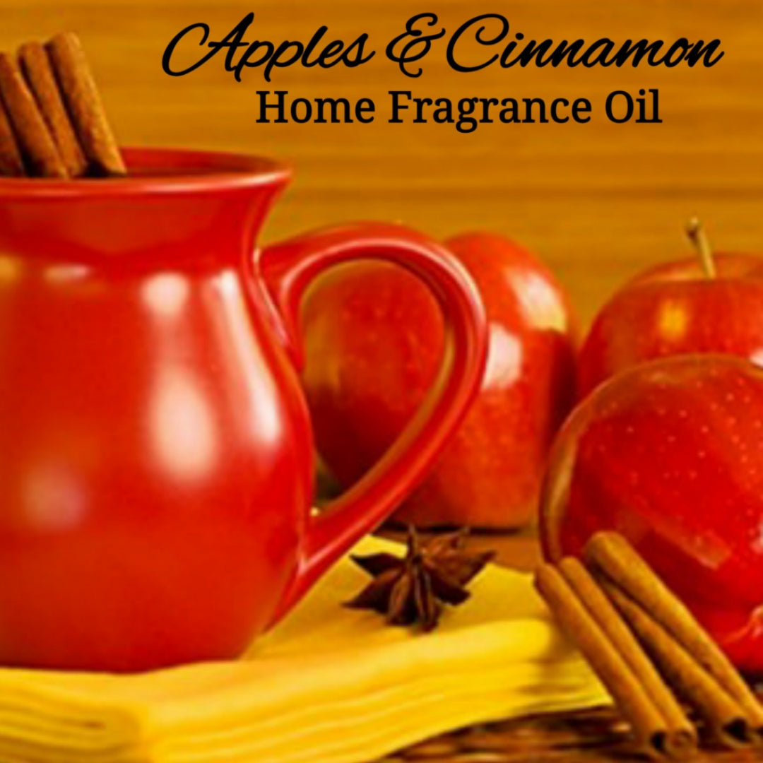Apples Cinnamon Home Fragrance Diffuser Warmer Aromatherapy Burning Oil