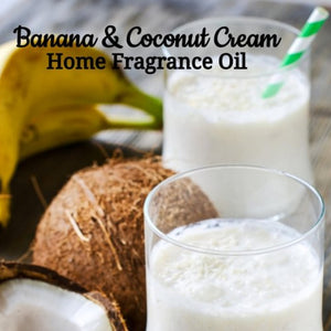 Banana Coconut Cream Home Fragrance Diffuser Warmer Aromatherapy Burning Oil
