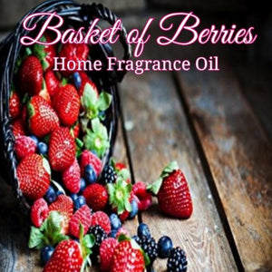 Basket of Berries Home Fragrance Diffuser Warmer Aromatherapy Burning Oil