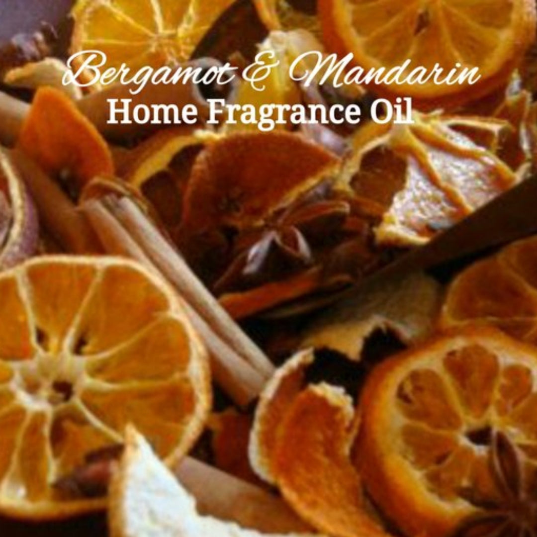 Bergamot Mandarin Home Fragrance Diffuser Warmer Aromatherapy Burning Oil