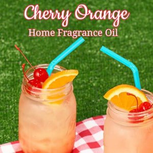Cherry Orange Home Fragrance Diffuser Warmer Aromatherapy Burning Oil
