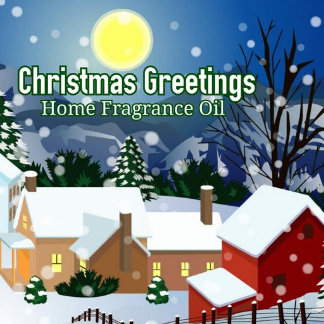 Christmas Greetings Home Fragrance Diffuser Warmer Aromatherapy Burning Oil