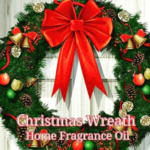 Christmas Wreath Home Fragrance Diffuser Warmer Aromatherapy Burning Oil