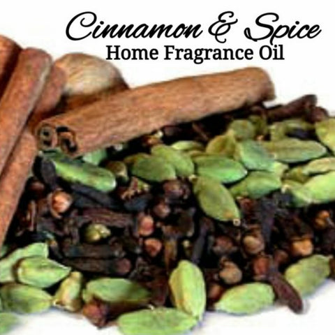 Cinnamon Spice Home Fragrance Diffuser Warmer Aromatherapy Burning Oil