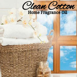 Clean Cotton Home Fragrance Diffuser Warmer Aromatherapy Burning Oil