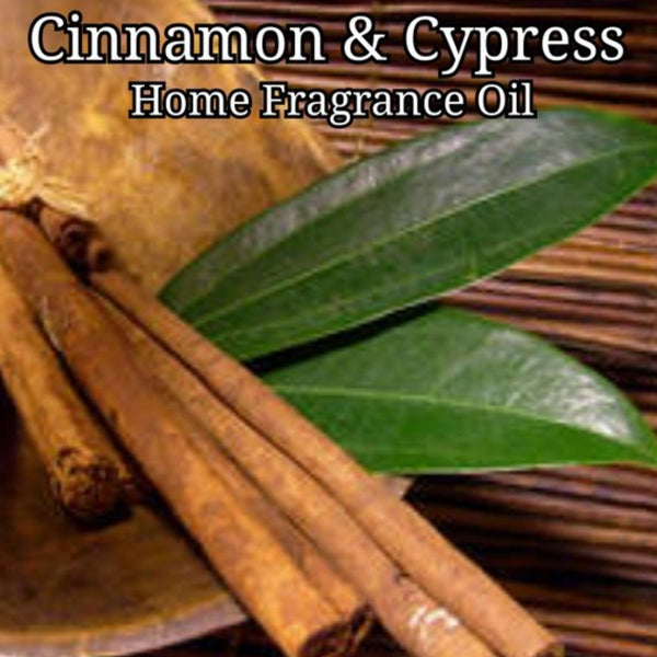 Cinnamon Cypress Home Fragrance Diffuser Warmer Aromatherapy Burning Oil