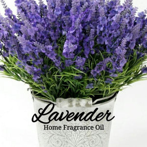 Lavender Home Fragrance Diffuser Warmer Aromatherapy Burning Oil