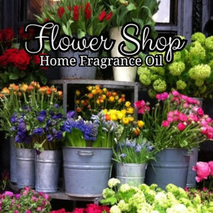 Flower Shop Home Fragrance Diffuser Warmer Aromatherapy Burning Oil