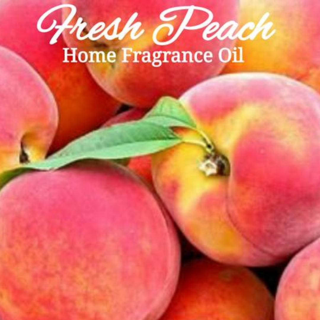 Fresh Peach Home Fragrance Diffuser Warmer Aromatherapy Burning Oil