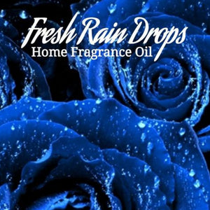 Fresh Rain Drops Home Fragrance Diffuser Warmer Aromatherapy Burning Oil