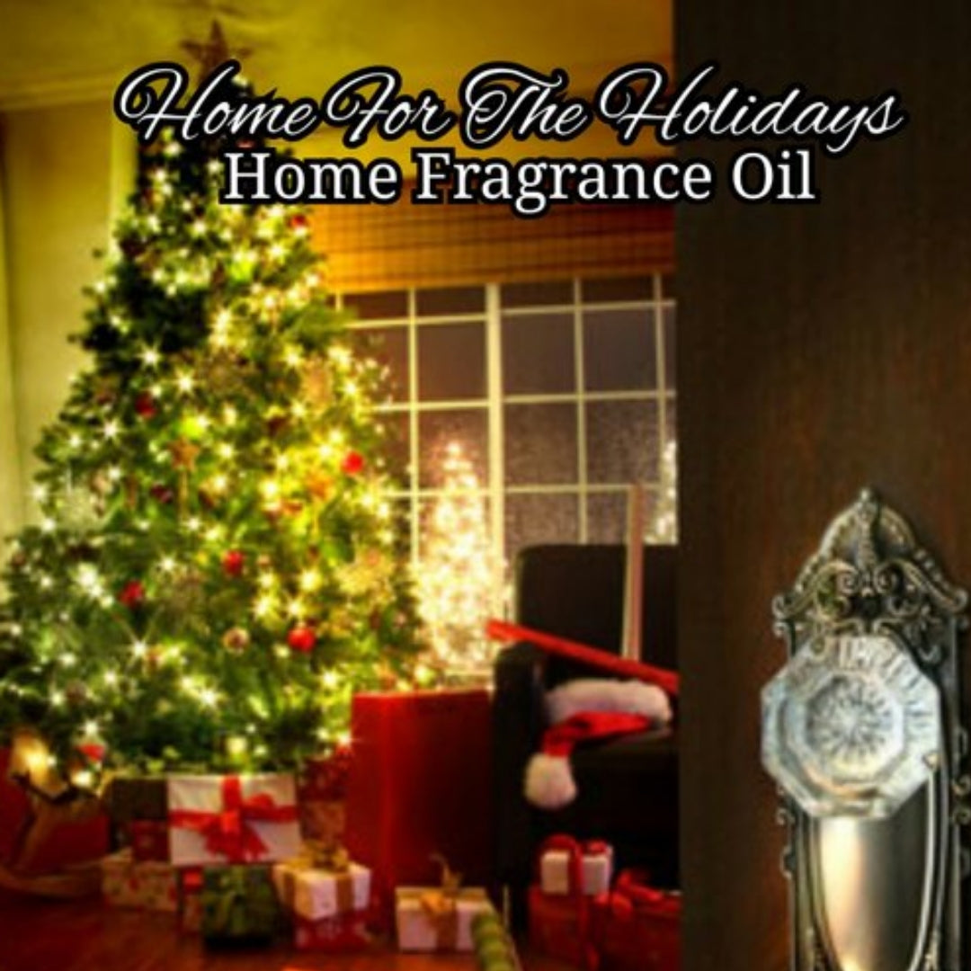 Home For The Holidays Diffuser Home Fragrance Warmer Aromatherapy Burning Oil