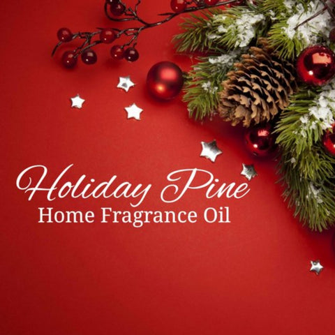 Holiday Pine Home Fragrance Diffuser Warmer Aromatherapy Burning Oil