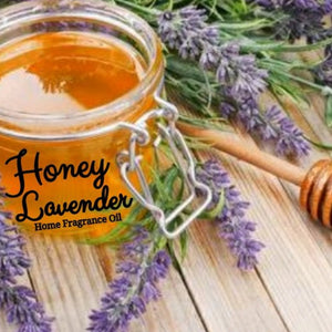 Honey Lavender Home Fragrance Diffuser Warmer Aromatherapy Burning Oil