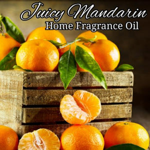 Juicy Mandarin Home Fragrance Diffuser Warmer Aromatherapy Burning Oil
