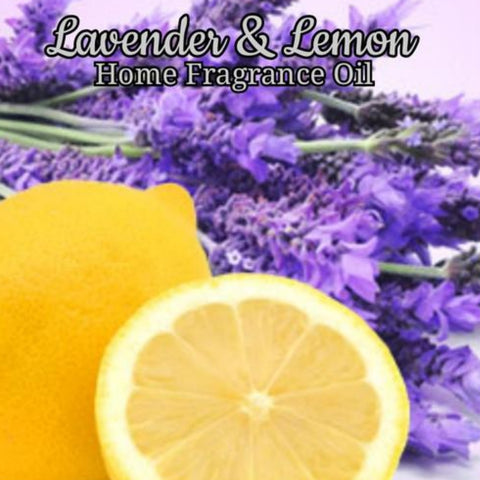 Lavender Lemon Home Fragrance Diffuser Warmer Aromatherapy Burning Oil