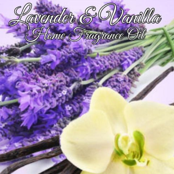 Lavender Vanilla Home Fragrance Diffuser Warmer Aromatherapy Burning Oil