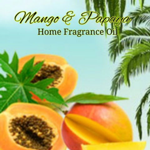 Mango Papaya Home Fragrance Diffuser Warmer Aromatherapy Burning Oil