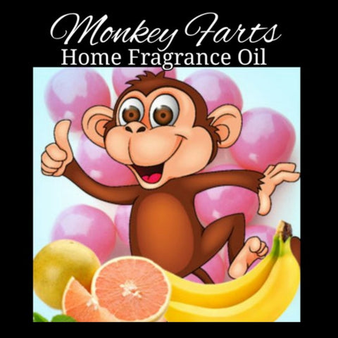 Monkey Farts Home Fragrance Diffuser Warmer Aromatherapy Burning Oil