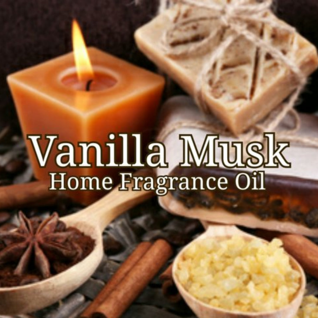 Vanilla Musk Home Fragrance Diffuser Warmer Aromatherapy Burning Oil
