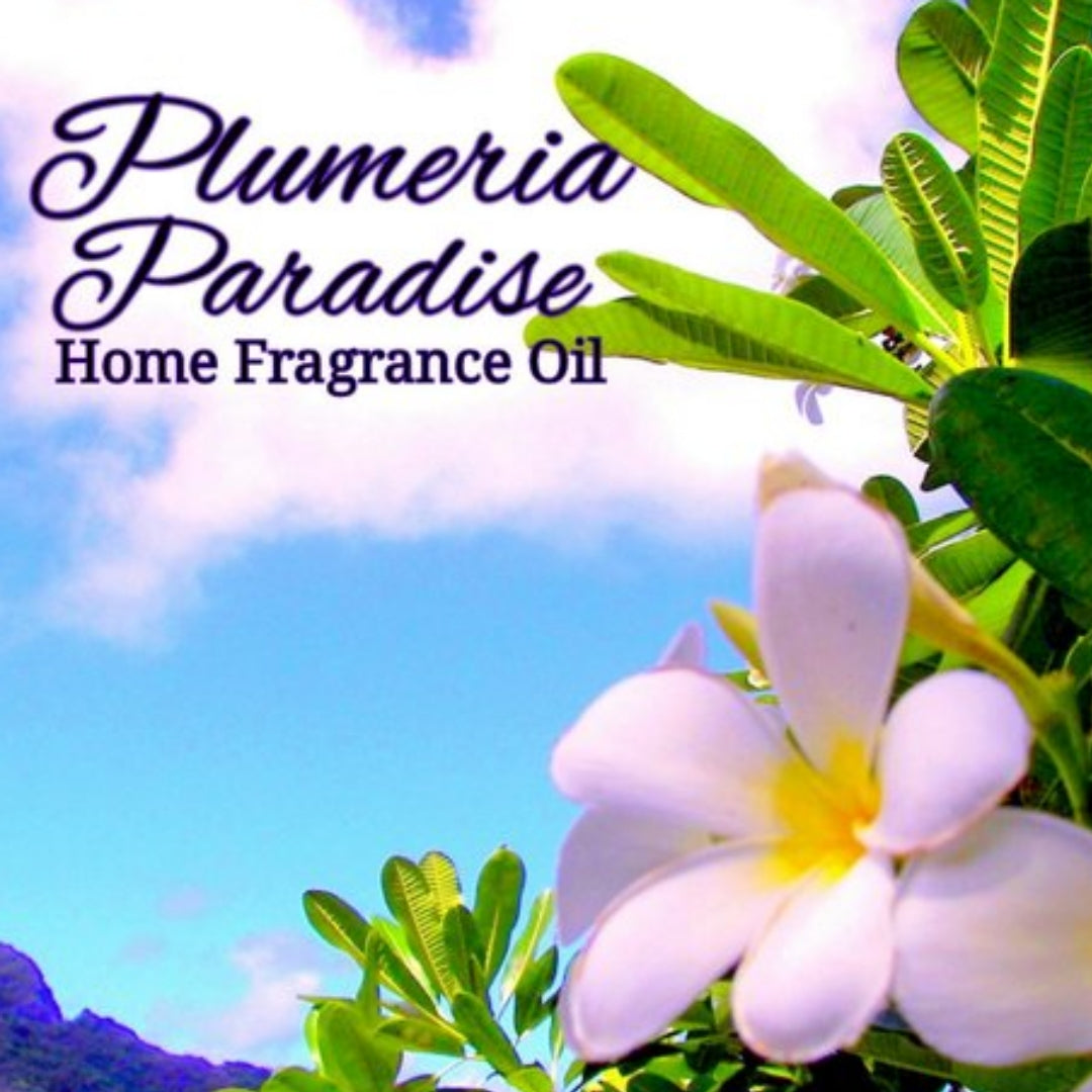 Plumeria Paradise Home Fragrance Diffuser Warmer Aromatherapy Burning Oil