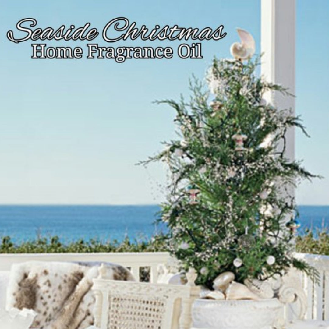 Seaside Christmas Home Fragrance Diffuser Warmer Aromatherapy Burning Oil