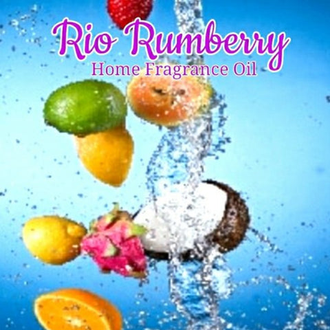 Rio Rumberry (Type) Home Fragrance Diffuser Warmer Aromatherapy Burning Oil