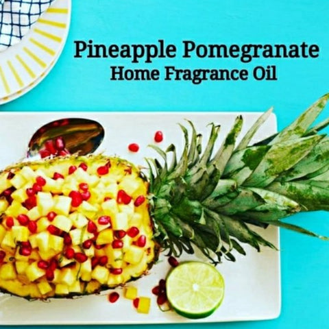 Pineapple Pomegranate Home Fragrance Diffuser Warmer Aromatherapy Burning Oil