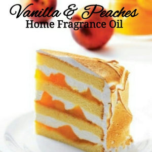 Vanilla Peaches Home Fragrance Diffuser Warmer Aromatherapy Burning Oil