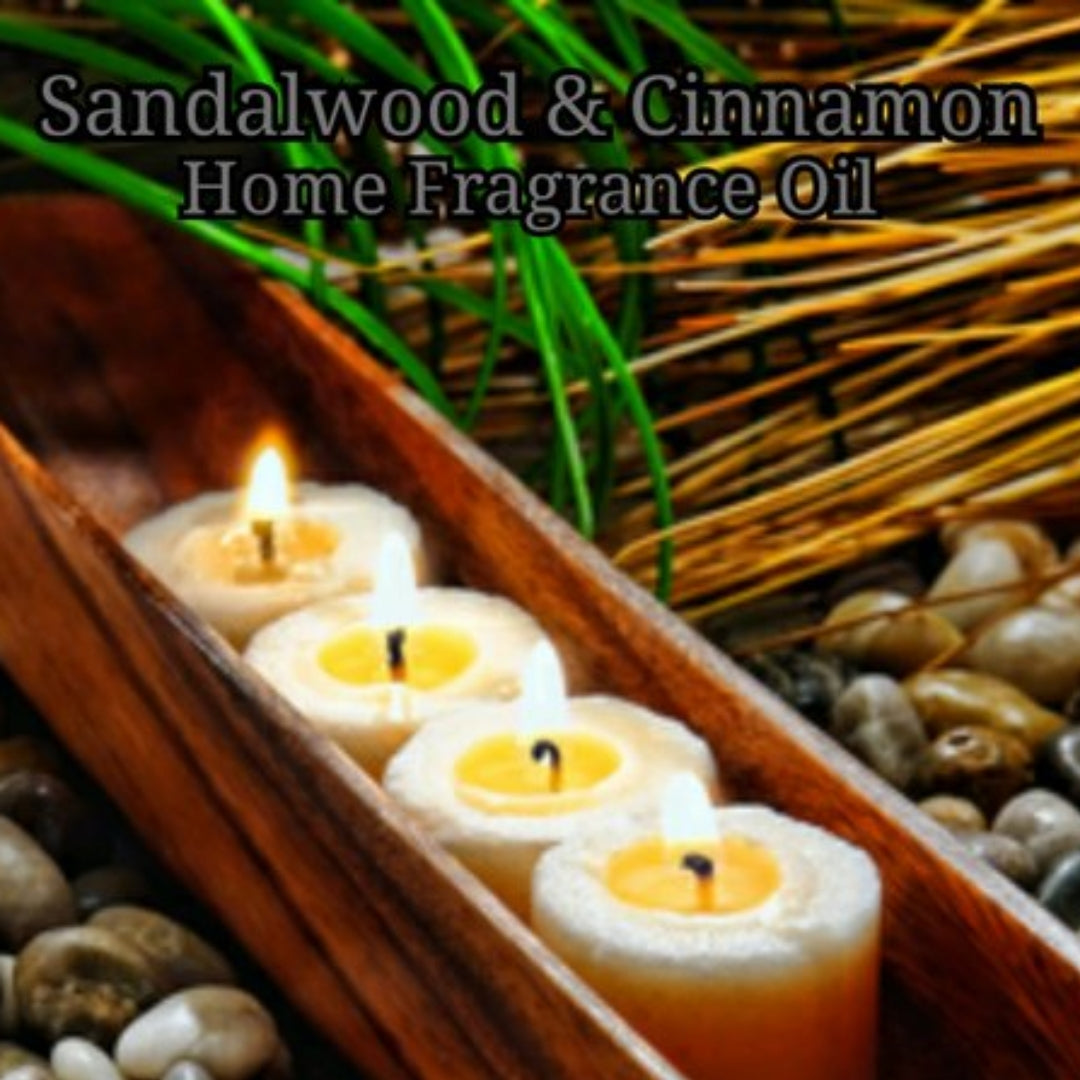 Sandalwood Cinnamon Home Fragrance Diffuser Warmer Aromatherapy Burning Oil