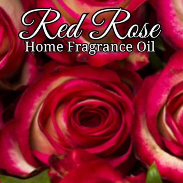 Red Rose Home Fragrance Diffuser Warmer Aromatherapy Burning Oil