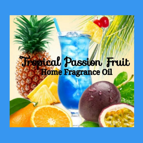 Tropical Passion Fruit Home Fragrance Diffuser Warmer Aromatherapy Burning Oil