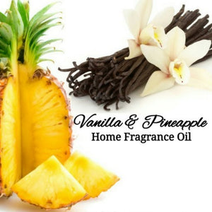 Vanilla Pineapple Home Fragrance Diffuser Warmer Aromatherapy Burning Oil