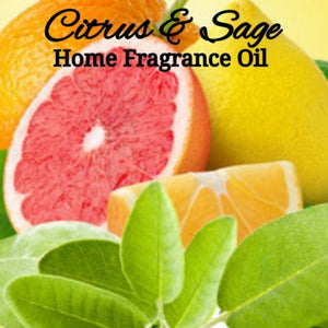 Citrus Sage Home Fragrance Diffuser Warmer Aromatherapy Burning Oil
