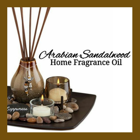 Arabian Sandalwood Home Fragrance Diffuser Warmer Aromatherapy Burning Oil