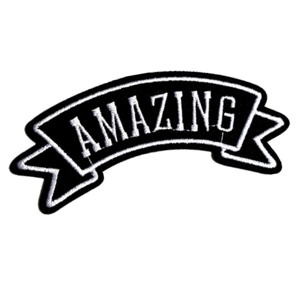 AMAZING Word Expression Iron-On Patch