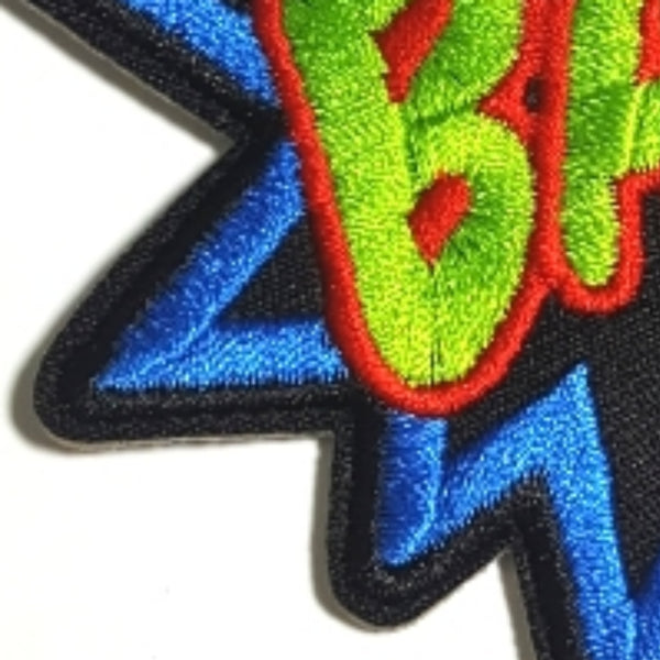 BAM Word Expression Iron-On Patch