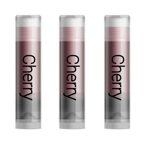 Cherry Lip Balm Moisturizers 3 Pack