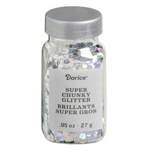 Darice™ BLING Iridescent Chunky Hexagon Glitter