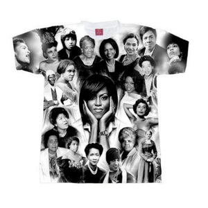 Phenomenal Black Women of History Crew Neck Unisex Tshirt