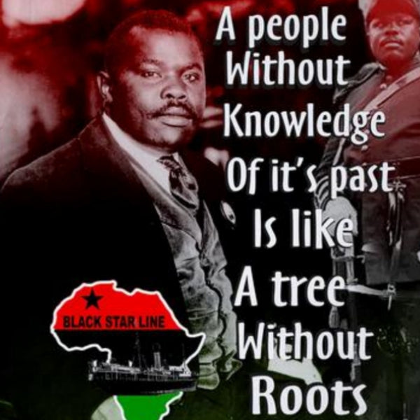 People Without Knowledge Tree Without Roots Marcus Garvey Crew Neck Unisex Tshirt