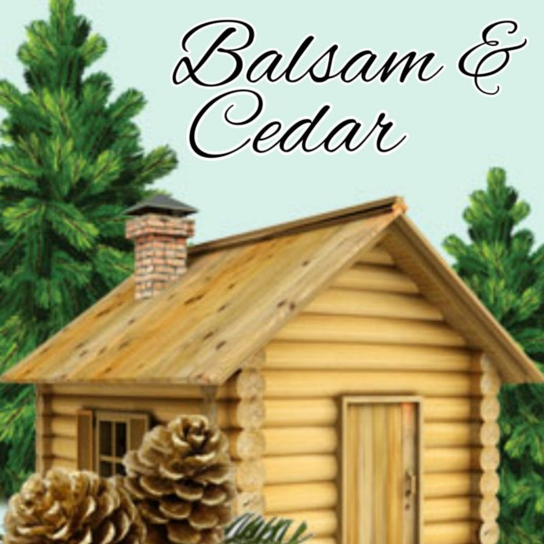 Balsam Cedar Candles/Bath/Body Fragrance Oil