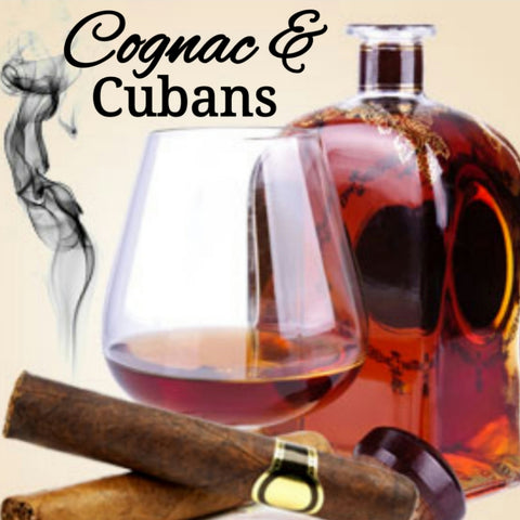 Cognac Cuban Cigars Candle/Bath/Body Masculine Fragrance Oil