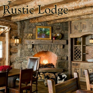Rustic Lodge Candle/Bath/Body Fragrance Oil