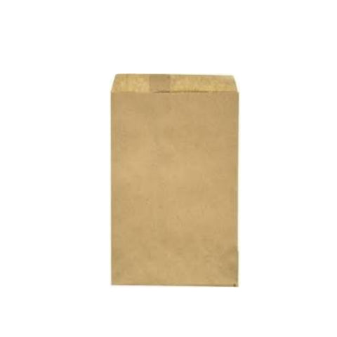 Brown Merchandise Cake Candy Treat Wedding Party Kraft Paper Favor Bags - Set of 100