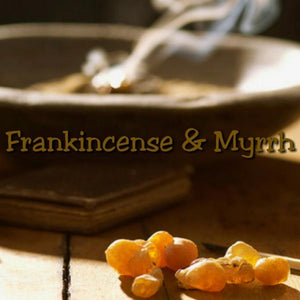Frankincense Myrrh Candle/Bath/Body Fragrance Oil