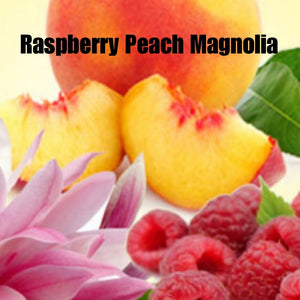 Raspberry Peach Magnolia Candle/Bath/Body Fragrance Oil