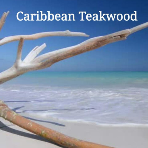 Caribbean Teakwood Candle/Bath/Body Masculine Candle Fragrance Oil