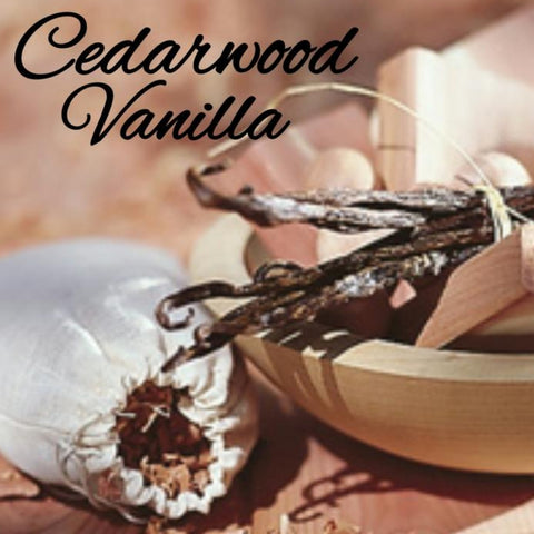 Cedarwood Vanilla Candle/Bath/Body Fragrance Oil