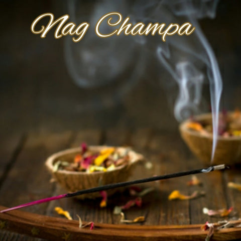 Nag Champa Candle/Bath/Body Fragrance Oil
