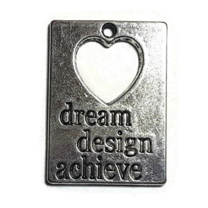Dream Design Achieve Expression Necklace Earring Bracelet Charms - Set of 8
